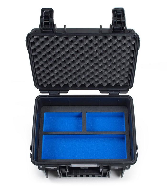 Valise B&W Type 3000 pour GoPro Hero5 Black - vue de face
