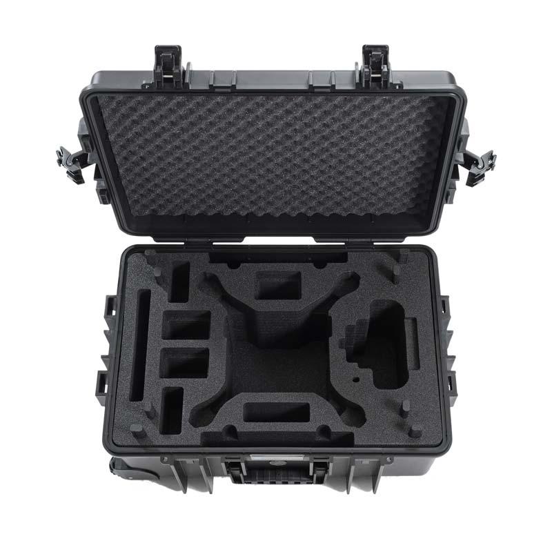 Valise CopterCase à roulettes pour DJI Phantom 4 de face vide