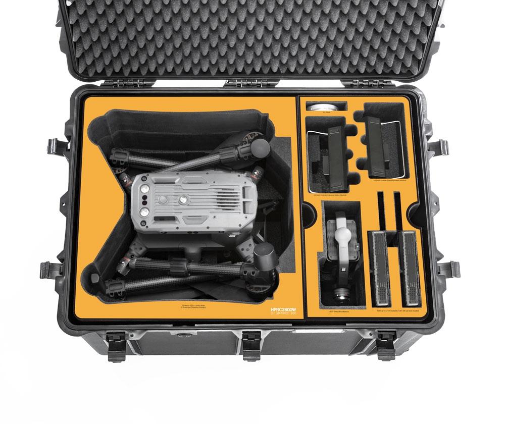 Valise étanche 2800W pour DJI Matrice 300 RTK - HPRC