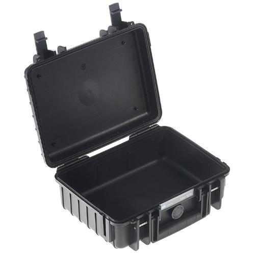 Valise étanche B&W type 1000/B Noir (sans mousse)