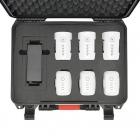 Valise HPRC avec 3 batteries Phantom 4 et 3 batteries Inspire 1 - vue du dessus