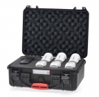 Valise HPRC pour batteries Phantom et Inspire - vue de biais