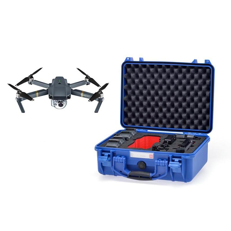 Valise HPRC 2400 de couleur bleue pour DJI Mavic Pro