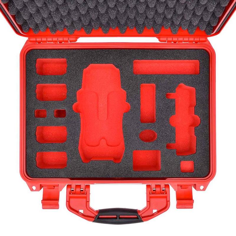 La valise HPRC 2400 possède 13 compartiments découpés dans une mousse haute densité