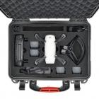 Valise HPRC avec le drone DJI Spark rangé ainsi que ses accessoires