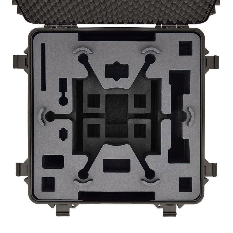 La valise HPRC est fournie avec une mousse pré-découpée qualitative offrant une protection maximale à votre matériel