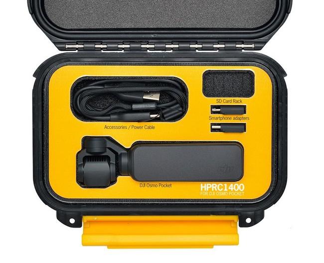 Valise HPRC1400 avec DJI Osmo Pocket et accessoires