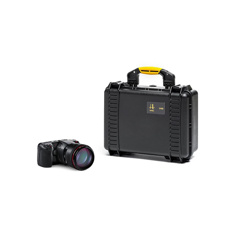 Valise HPRC2400 Combo pour Blackmagic Pocket Cinema 6K ou 4K + Metabones