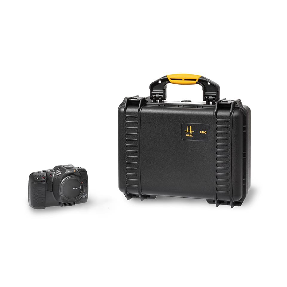 Valise HPRC2400 pour Blackmagic Pocket Cinema Camera 6K Pro
