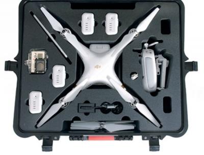 Valise hprc roulettes pour phantom 3 for Valise makita avec tous ses accessoires