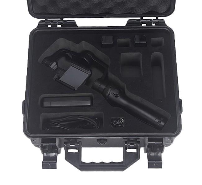 Valise pour DJI Osmo Mobile avec accessoires - vue de haut