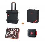 Valise & sac à dos HPRC DJI Phantom 4 avec rangement cartes microSD