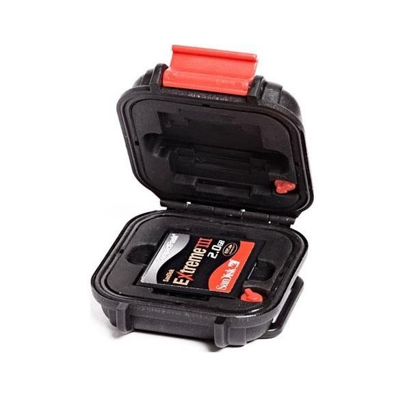 Rangement ouvert pour les cartes microSD du pack valise & sac à dos HPRC DJI Phantom 4