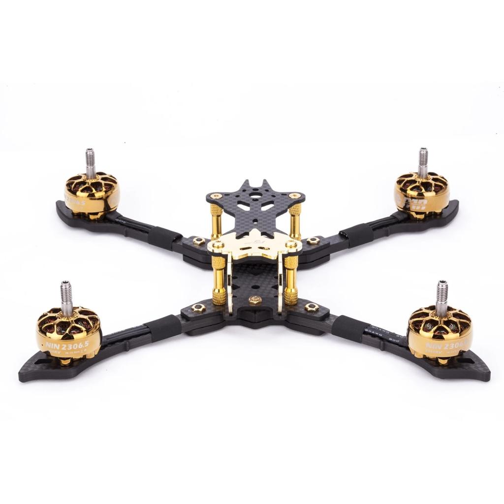 VAMPIRE-2 HD  5\'\'  Frame Kit GOLD