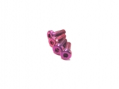 Vis M3x8mm en Titane x4 rose