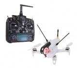 Drone racer Walkera F150 Rodeo RTF blanc avec radiocommande DEVO 7