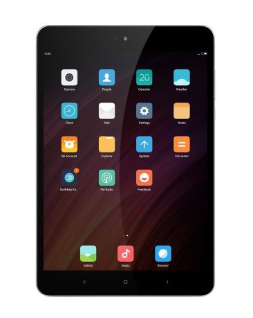 Tablette Xiaomi Mi Pad 3 - vue de face