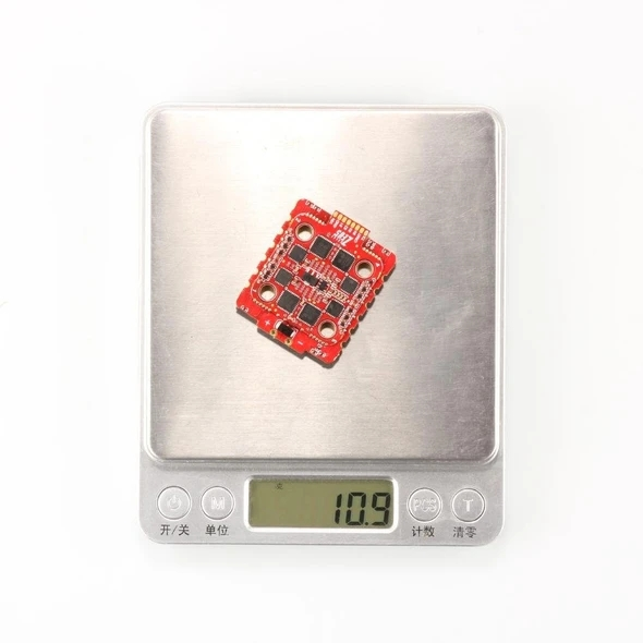 Zeus 45A 4IN1 BLHeli_32 3-6S ESC 20x20 M3 Red