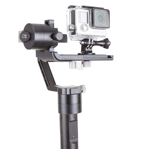 Stabilisateur Zhiyun Crane-M avec GoPro Hero4